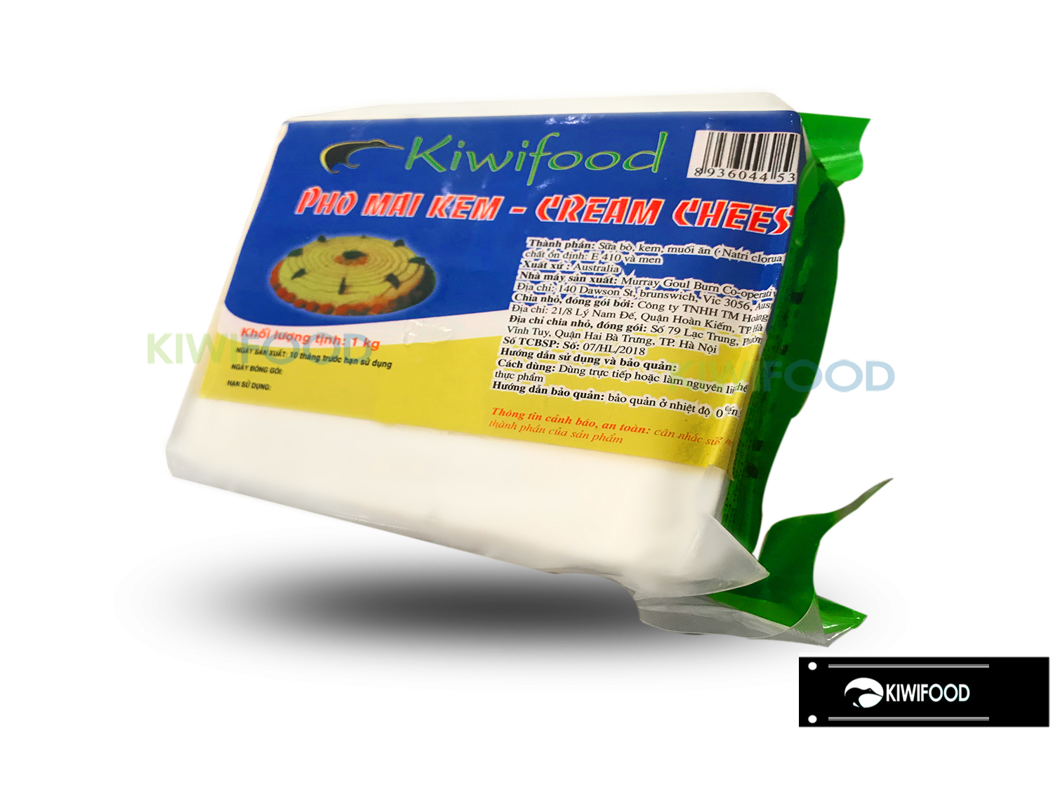 Phomai Cream Cheese 1kg